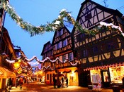 decoration de noel en alsace